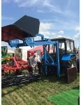 Грузоподъемная установка для задней навески тракторной техники